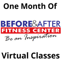 One calendar month of virtual classes.